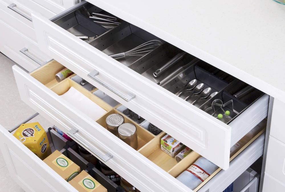 Accessoires de rangement pour cuisine et salle de bain