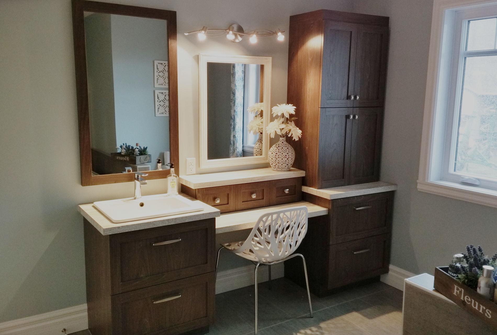 Vanité de salle de bain et meubles de salle de bain